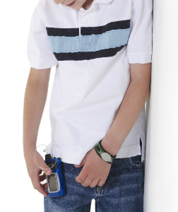 Insulin pump - clip on pocket belt