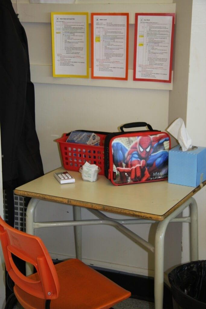 School Diabetes-Care Station