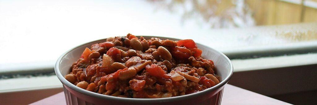 Ground-Turkey-Chili-carb-counted-gluten-free-GF-comfort-food-1024x341
